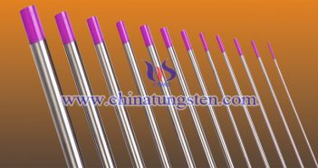 thoriated tungsten electrode Chinatungsten picture