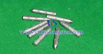 tungsten alloy nail fishing sinker picture
