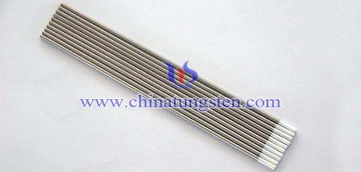 zirconiated tungsten electrode Chinatungsten picture