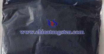 cesium tungsten bronze applied for nano-ceramic color master picture