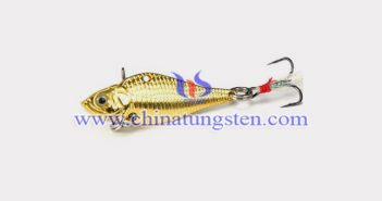 gold plated tungsten alloy fishing weight picture