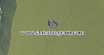 tungsten oxide applied for heat insulating window glass image