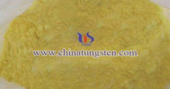 tungsten oxide applied for thermal insulation paper image