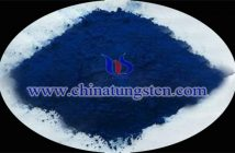 transparent thermal insulation nanopowder blue tungsten oxide powder image