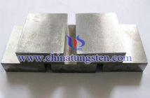90W-6Ni-4Cu tungsten alloy block picture
