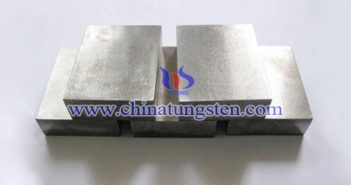 90W-6Ni-4Cu tungsten alloy block picture