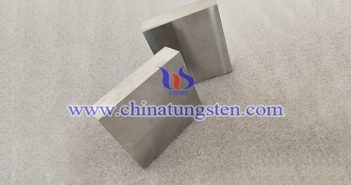 90W-6Ni-4Fe tungsten alloy block picture