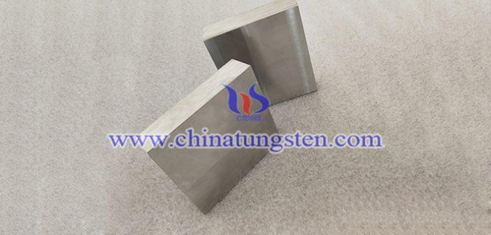 90W-6Ni-4Fe tungsten alloy block picture
