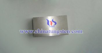 90W-7.1Ni-2.9Fe tungsten alloy block picture