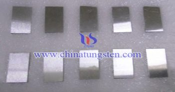 92.5W-5.4Ni-2.1Fe tungsten alloy block picture