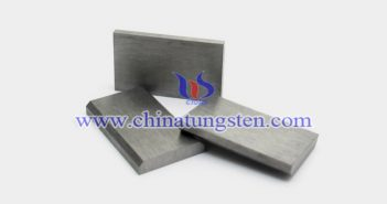 92.5W-Ni-Fe-Mo tungsten alloy block picture