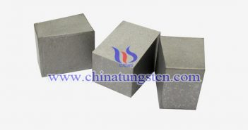 93W-4Ni-3Cu tungsten alloy block picture
