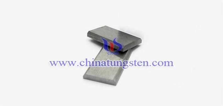 97W-2.1Ni-0.9Fe tungsten alloy block picture