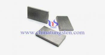 97W-2.1Ni-0.9Fe tungsten alloy block picture