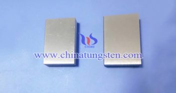 97W-2Ni-1Fe tungsten alloy block picture