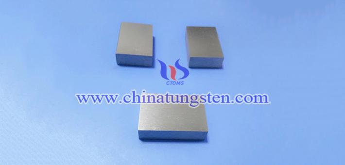 97W-2Ni-1Fe tungsten alloy block picture