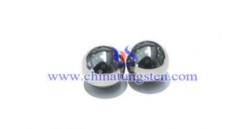 polished tungsten alloy ball picture