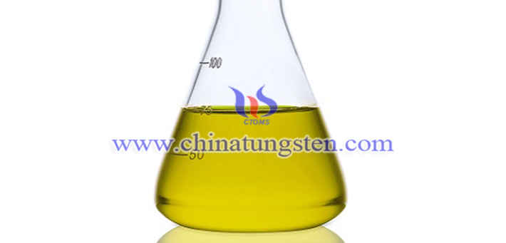 tungsten oxide applied for thermal insulation dispersion liquid picture
