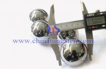 φ50mm tungsten alloy ball picture