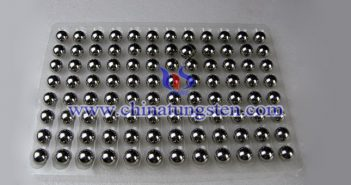 93WNiFeMo tungsten alloy ball picture