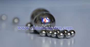 95WNiCu tungsten alloy ball picture