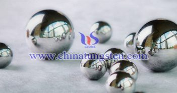 95WNiFe tungsten alloy ball picture