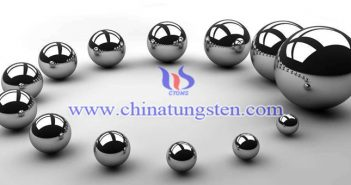 97WNiFe tungsten alloy ball picture