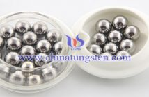 high hardness tungsten alloy ball picture