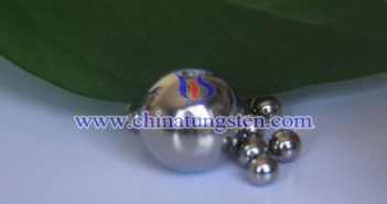tungsten alloy solid ball picture