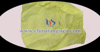 tungsten oxide nanopowder applied for ceramic microsphere Chinatungsten image