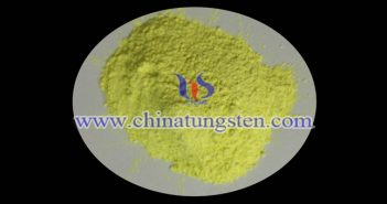 tungsten oxide nanopowder applied for nano-ceramic dispersion solution image