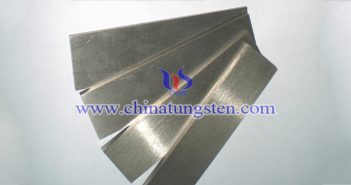 320x80x50mm tungsten alloy plate picture