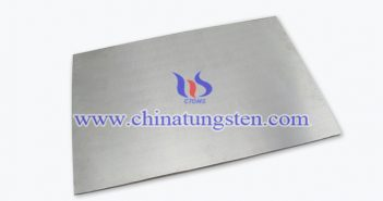 36x12x1mm tungsten alloy plate picture