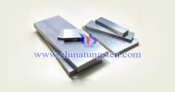420x325x46mm tungsten alloy plate picture