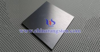 530x460x10mm tungsten alloy plate picture
