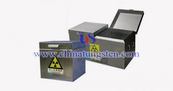 industrial tungsten radiation protection box picture