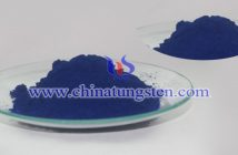 nanometer blue tungsten oxide applied for ceramic microsphere image