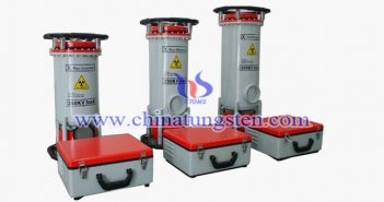 portable tungsten alloy X-ray detector picture