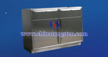 tungsten alloy shielding cabinet picture