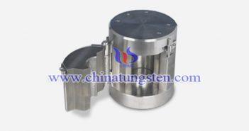 tungsten alloy shielding jar picture