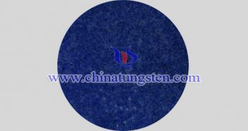blue nano tungsten oxide applied for thermal insulating glass image