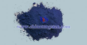 blue nano tungsten oxide applied for thermal insulation thin film image