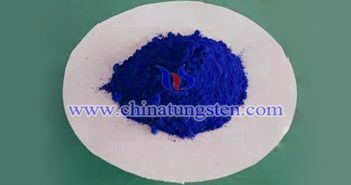 blue nano tungsten oxide applied for transparent thermal insulation film image