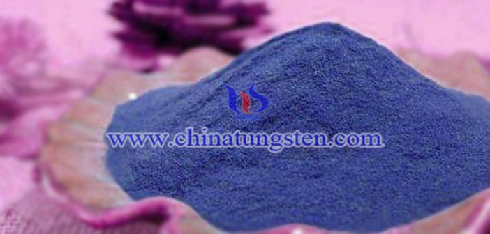 blue tungsten oxide nano powder applied for transparent thermal insulation window film image
