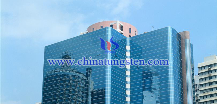 blue tungsten oxide nano powder applied for transparent thermal insulation window film picture