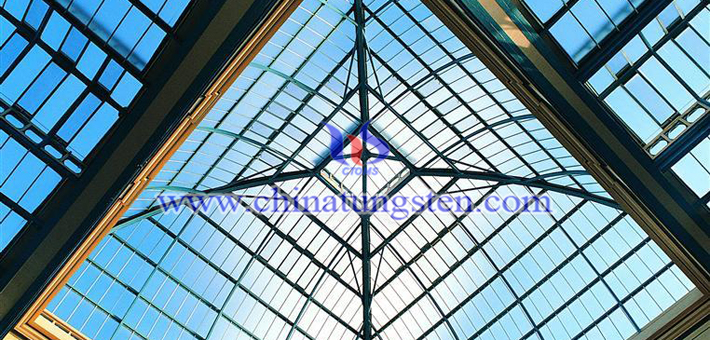 blue tungsten oxide nanopowder applied for transparent thermal insulation window film picture