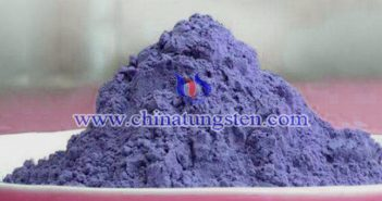 blue tungsten oxide powder applied for transparent thermal insulation window film image