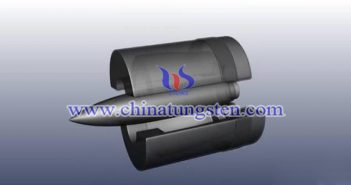 military tungsten alloy parts picture