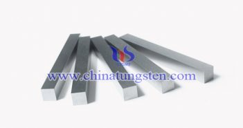 tungsten alloy bar for smelting picture