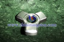tungsten alloy trifoliate hand spinner picture